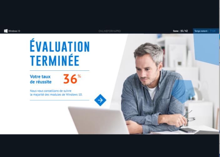 Lire le suivi des évaluations Onlineformapro