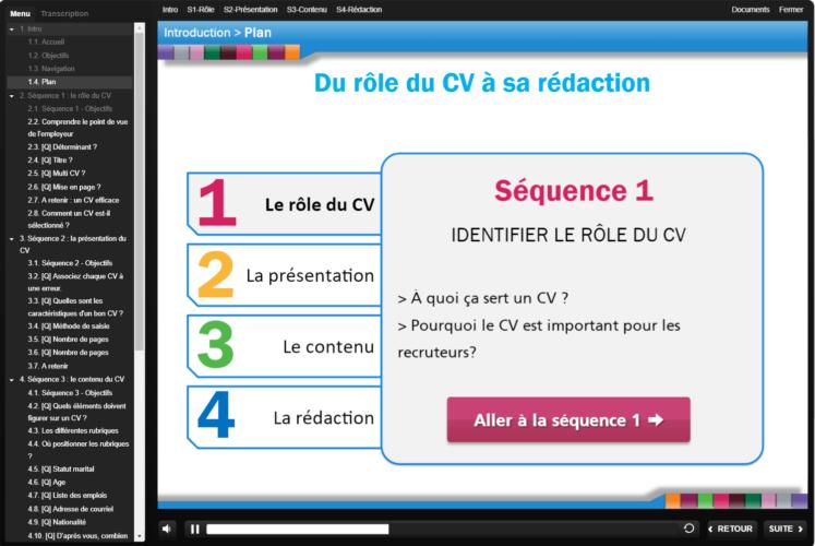 """Mise à jour des modules """"techniques de recherche d'emploi"""" made in Normandie"""