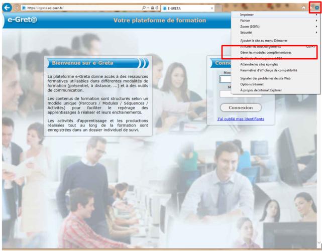 Problèmes d'accès aux modules Online Forma Pro